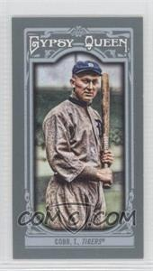 2013 Topps Gypsy Queen - [Base] - Mini #155.2 - Ty Cobb