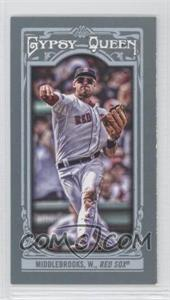 2013 Topps Gypsy Queen - [Base] - Mini #164.2 - Will Middlebrooks (Throwing)