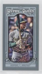2013 Topps Gypsy Queen - [Base] - Mini #172.2 - Yoenis Cespedes