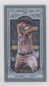 2013 Topps Gypsy Queen - [Base] - Mini #259.2 - Justin Verlander