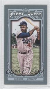 2013 Topps Gypsy Queen - [Base] - Mini #260.2 - Jackie Robinson