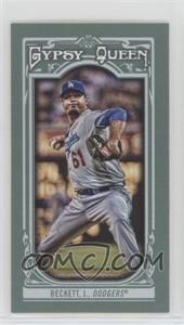 2013 Topps Gypsy Queen - [Base] - Mini #265 - Josh Beckett