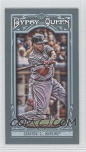 2013 Topps Gypsy Queen - [Base] - Mini #276.1 - Giancarlo Stanton (swinging)