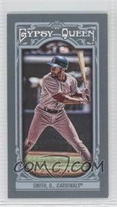 2013 Topps Gypsy Queen - [Base] - Mini #315.2 - Ozzie Smith (Hitting)