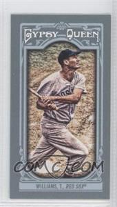 2013 Topps Gypsy Queen - [Base] - Mini #330.2 - Ted Williams