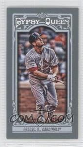 2013 Topps Gypsy Queen - [Base] - Mini #34.2 - David Freese