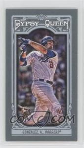 2013 Topps Gypsy Queen - [Base] - Mini #5.2 - Adrian Gonzalez