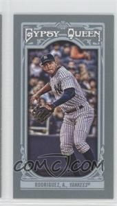 2013 Topps Gypsy Queen - [Base] - Mini #6.2 - Alex Rodriguez