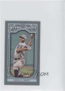2013 Topps Gypsy Queen - [Base] - Mini #86.1 - Mariano Rivera (white hat)