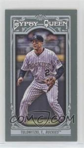 2013 Topps Gypsy Queen - [Base] - Mini #97.1 - Troy Tulowitzki (pinstripe uniform)