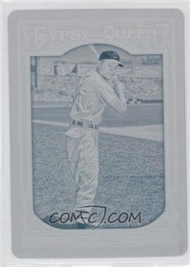 2013 Topps Gypsy Queen - [Base] - Printing Plate Cyan #81 - Larry Doby /1
