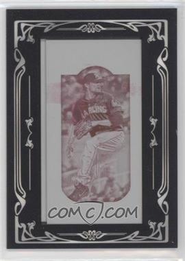 2013 Topps Gypsy Queen - [Base] - Printing Plate Mini Magenta #55 - Nathan Eovaldi /1