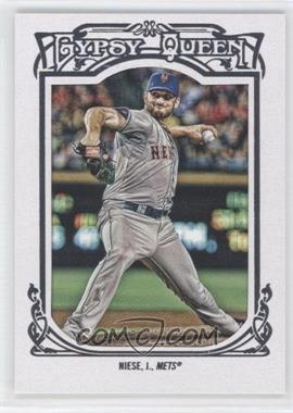 2013 Topps Gypsy Queen - [Base] - White Framed #123 - Jonathon Niese