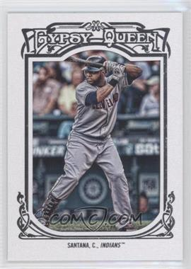 2013 Topps Gypsy Queen - [Base] - White Framed #179 - Carlos Santana