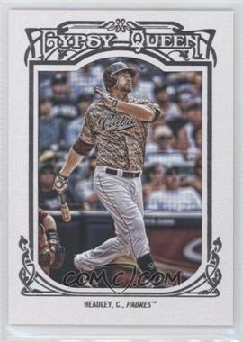 2013 Topps Gypsy Queen - [Base] - White Framed #193 - Chase Headley