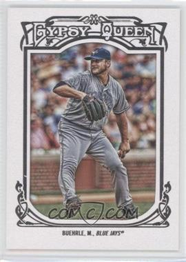2013 Topps Gypsy Queen - [Base] - White Framed #255 - Mark Buehrle