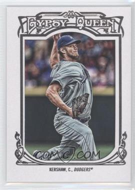 2013 Topps Gypsy Queen - [Base] - White Framed #26 - Clayton Kershaw