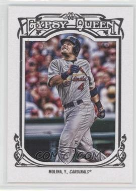 2013 Topps Gypsy Queen - [Base] - White Framed #289 - Yadier Molina