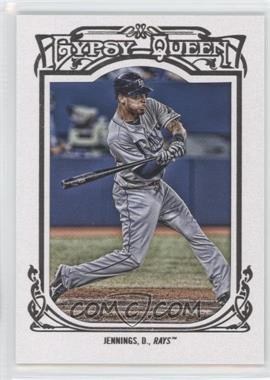 2013 Topps Gypsy Queen - [Base] - White Framed #337 - Desmond Jennings