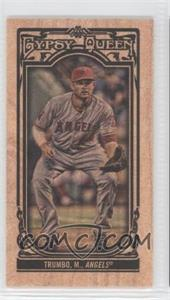 2013 Topps Gypsy Queen - [Base] - Wood Mini #88 - Mark Trumbo /5