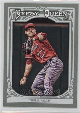 2013 Topps Gypsy Queen - [Base] #14.1 - Mike Trout (Base)