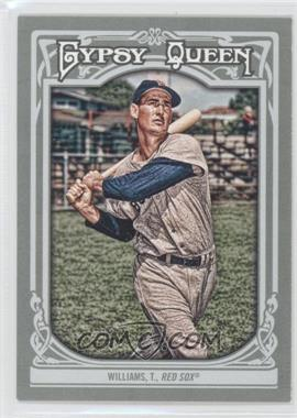 2013 Topps Gypsy Queen - [Base] #330 - Ted Williams