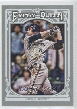 2013 Topps Gypsy Queen - [Base] #62 - Ryan Braun