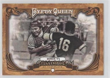 2013 Topps Gypsy Queen - Collisions at the Plate #CP-JB - Johnny Bench