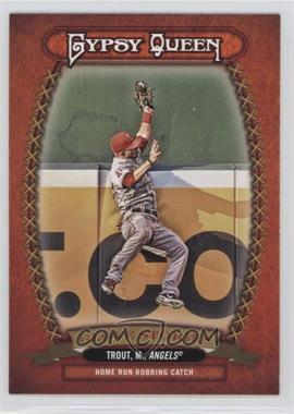 2013 Topps Gypsy Queen - Glove Stories #GS-MT - Mike Trout