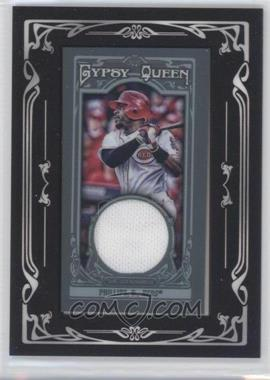 2013 Topps Gypsy Queen - Mini Relic #GQMR-BP - Brandon Phillips