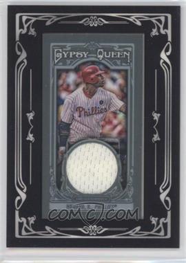 2013 Topps Gypsy Queen - Mini Relic #GQMR-RHO - Ryan Howard