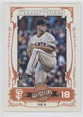 2013 Topps Gypsy Queen - No-Hitters #NH-MC - Matt Cain