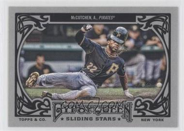 2013 Topps Gypsy Queen - Sliding Stars #SS-AM - Andrew McCutchen