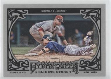 2013 Topps Gypsy Queen - Sliding Stars #SS-CG - Carlos Gonzalez