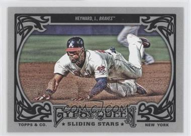 2013 Topps Gypsy Queen - Sliding Stars #SS-JH - Jason Heyward