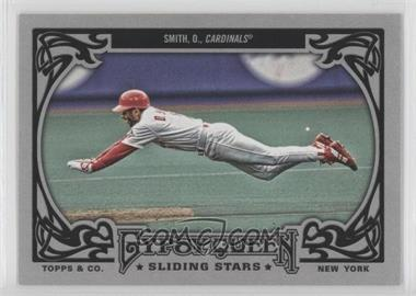 2013 Topps Gypsy Queen - Sliding Stars #SS-OS - Ozzie Smith
