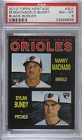 Manny Machado, Dylan Bundy [PSA8NM‑MT]