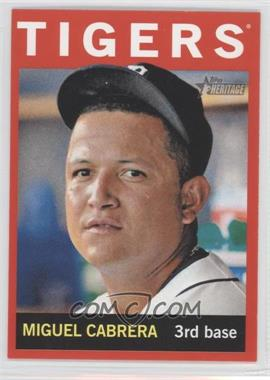 2013 Topps Heritage - [Base] - Retail Red #426 - Miguel Cabrera