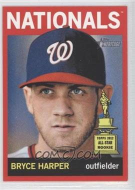 2013 Topps Heritage - [Base] - Retail Red #440 - Bryce Harper