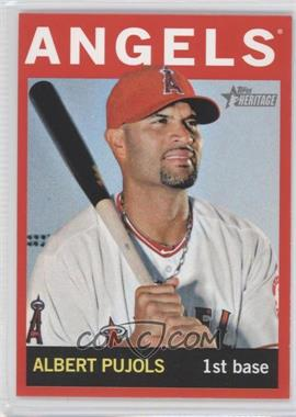 2013 Topps Heritage - [Base] - Retail Red #470 - Albert Pujols