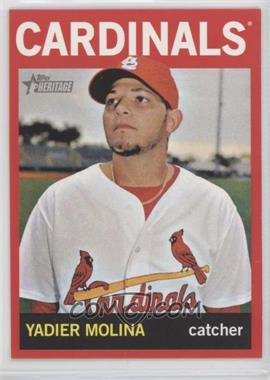 2013 Topps Heritage - [Base] - Retail Red #477 - Yadier Molina