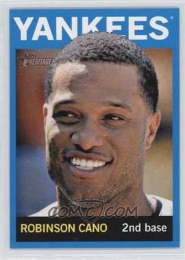 2013 Topps Heritage - [Base] - Wal-Mart Blue #100 - Robinson Cano