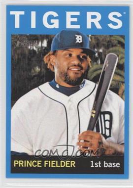 2013 Topps Heritage - [Base] - Wal-Mart Blue #250 - Prince Fielder