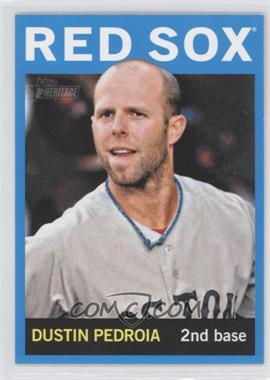 2013 Topps Heritage - [Base] - Wal-Mart Blue #434 - Dustin Pedroia