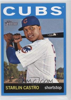 2013 Topps Heritage - [Base] - Wal-Mart Blue #485 - Starlin Castro