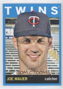 2013 Topps Heritage - [Base] - Wal-Mart Blue #90 - Joe Mauer