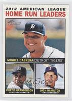 2012 American League Home Run Leaders (Miguel Cabrera, Curtis Granderson, Josh …