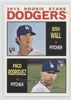 2013 Rookie Stars (Josh Wall, Paco Rodriguez)