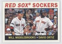 Red Sox Sockers (Will Middlebrooks, David Ortiz)