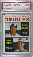 2013 Rookie Stars (Manny Machado, Dylan Bundy) [PSA 10 GEM MT]